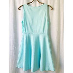 Aritzia Dresses - Talula Kanda light teal fit and flare mini dress